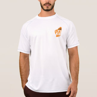 Bolsillo seco doble de la camiseta de la malla del playeras