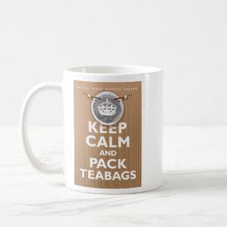 'Bolsita de té británica Advice Taza De Café