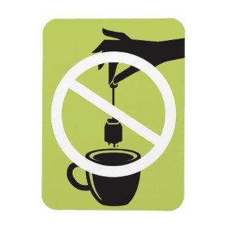 Bolsita de té imanes rectangulares