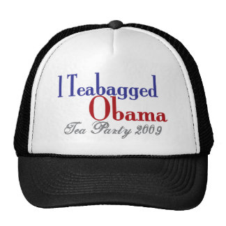 Bolsita de té Obama (fiesta del té 2009) Gorros