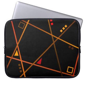 """Bolsita ordenador - Modelo """"Abstract geometry """" Fundas Ordendadores"""
