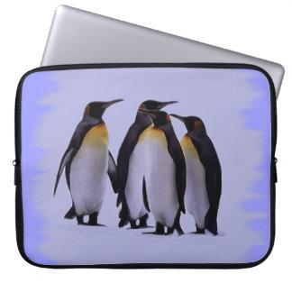 Bolso 15-17 de la electrónica de cuatro pingüinos  manga portátil