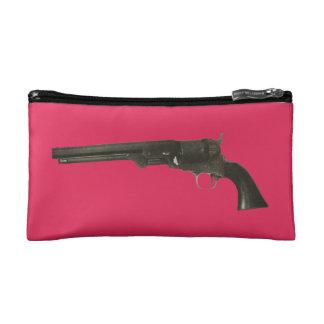 Bolso 1860 del cosmético del revólver de las armas