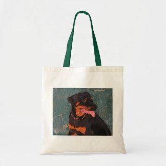 Bolso 1 de Rottweiler Bolsa Tela Barata