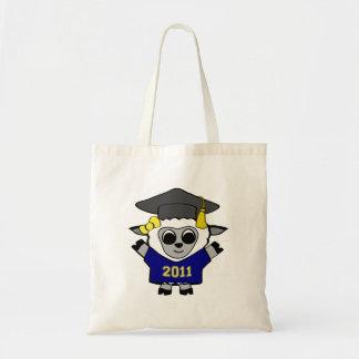 Bolso 2011 del graduado de la marina de guerra y d bolsa tela barata
