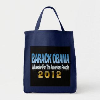 BOLSO 2012 de ULTRAMARINOS de Barack Obama de la a
