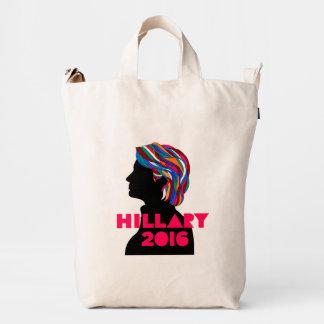 Bolso 2016 del pato de lona de Hillary Clinton Bolsa De Lona Duck