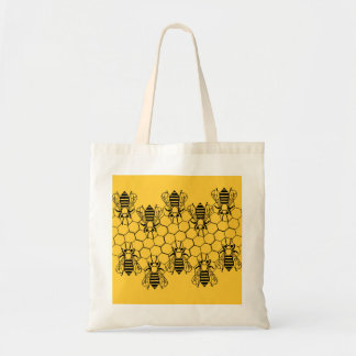 Bolso - abejas bolsa tela barata