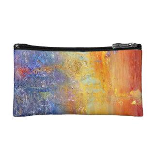 Bolso abstracto de la puesta del sol