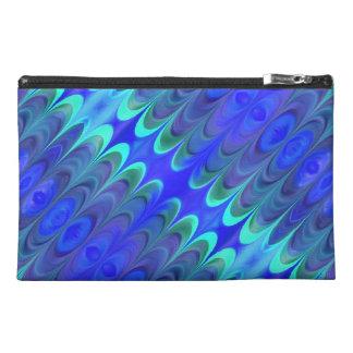 Bolso accesorio abstracto de los azules coloridos