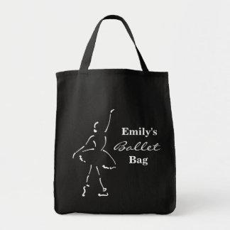 Bolso adaptable del ballet con la bailarina bolsas