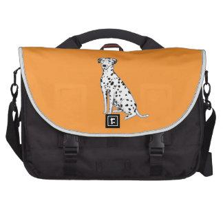 Bolso adaptable del viajero del perro dálmata bolsas para portatil