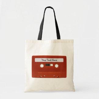 Bolso adaptable rojo de la lona de la cinta de cas bolsa tela barata