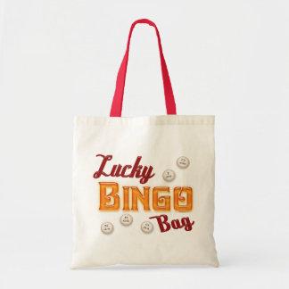 Bolso afortunado del bingo bolsa tela barata