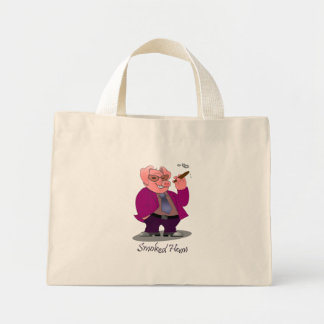 Bolso ahumado del regalo del jamón del cerdo bolsas