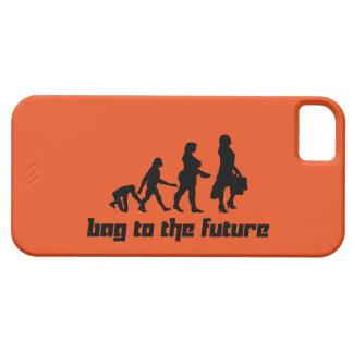 Bolso al futuro funda para iPhone 5 barely there