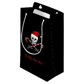 Bolso alegre del regalo del navidad del pirata de bolsa de regalo pequeña