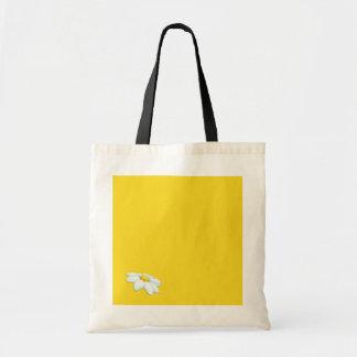 Bolso amarillo de la margarita