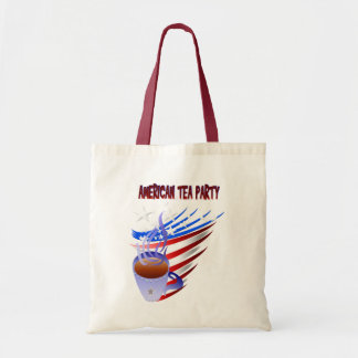 Bolso americano de la fiesta del té
