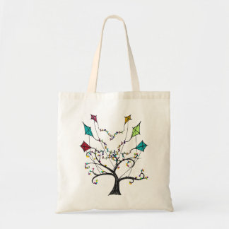 Bolso amistoso de Eco del árbol de la cometa Bolsa Tela Barata