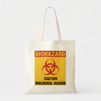 Bolso amonestador del Biohazard Bolsa