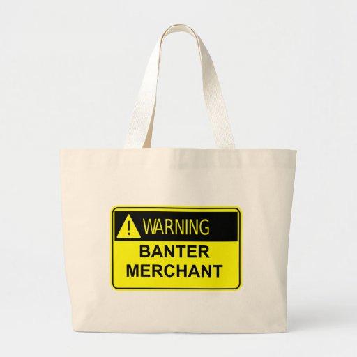 Bolso amonestador del comerciante de la burla bolsa