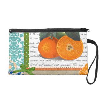 Bolso anaranjado de la fruta de la Florida del