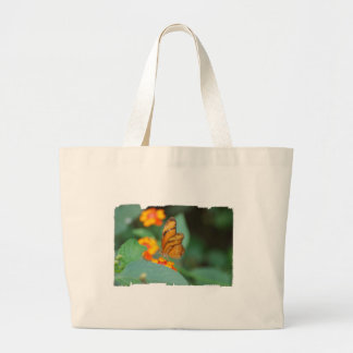 Bolso anaranjado minúsculo de la lona de la maripo bolsas