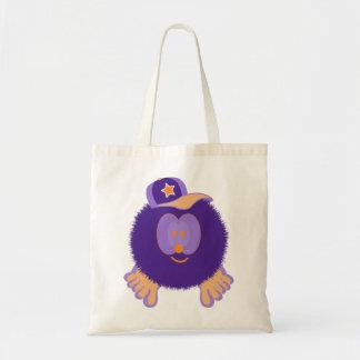 Bolso anaranjado púrpura de la gorra de béisbol