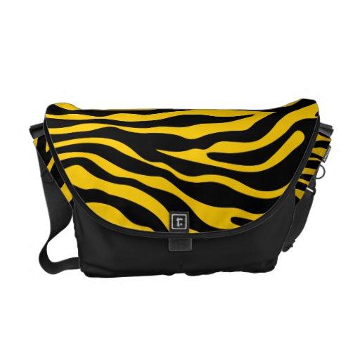 bolso animal del modelo del estampado de zebra ama bolsas de mensajeria