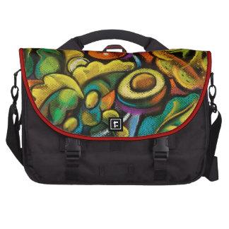 Bolso artístico colorido del ordenador portátil de bolsas para ordenador