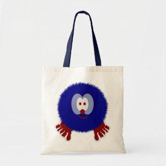 Bolso azul blanco rojo de Pom Pom PAL