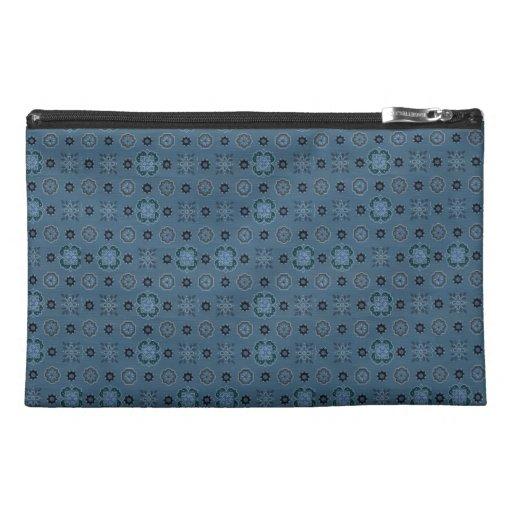Bolso azul del accesorio del viaje de Bagettes de