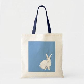 Bolso azul del conejo bolsas de mano