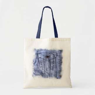 Bolso azul del ~ del dril de algodón bolsa tela barata