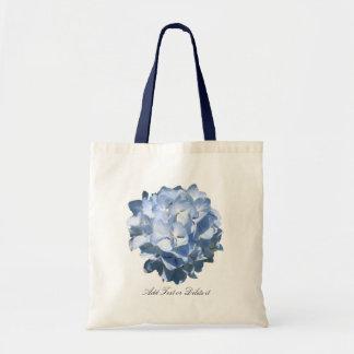Bolso azul del Hydrangea Bolsas