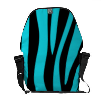 Bolso azul del ordenador portátil del mensajero de bolsas messenger