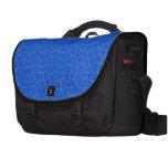 Bolso azul del viajero bolsas de portatil