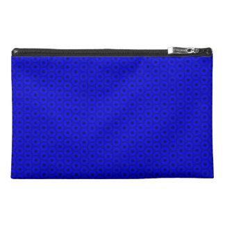 Bolso azul y negro brillante del accesorio del