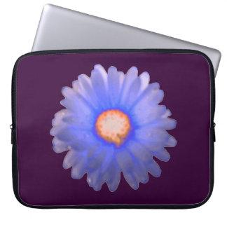 Bolso azul y rojo del ordenador portátil de la funda portátil