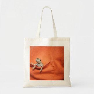 bolso barbudo del dragón bolsa de mano