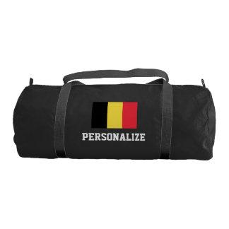 Bolso belga personalizado del gimnasio de la lona bolsa de deporte