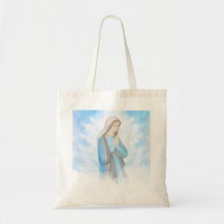 Bolso bendecido del Virgen María Bolsa Tela Barata