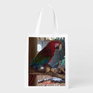 Bolso bilateral de la vida de los pájaros exóticos bolsa de la compra