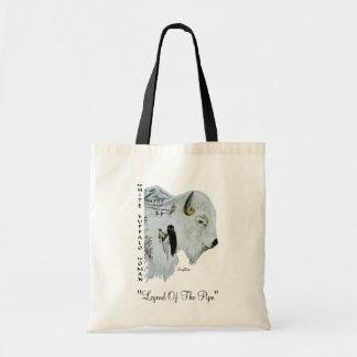 Bolso blanco de la mujer del búfalo bolsa tela barata