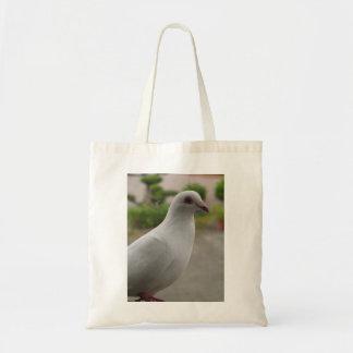 Bolso blanco de las palomas
