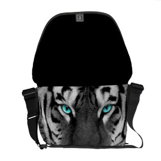 Bolso blanco del tigre bolsa de mensajeria