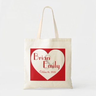 Bolso blanco rojo simple adaptable del boda del co bolsa tela barata