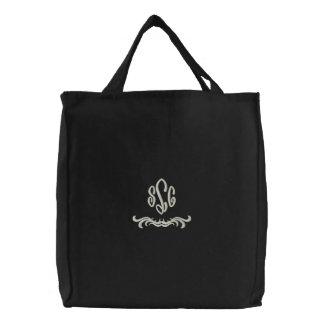 Bolso bordado monograma bolsas bordadas