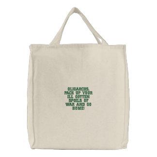 Bolso bordado personalizado bolsa